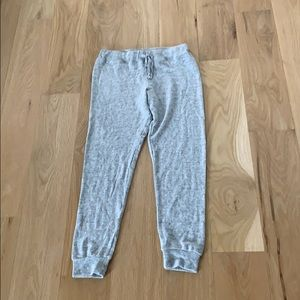 Pants - Soft- gray sweatpants